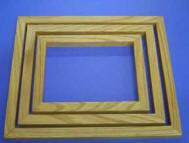 Solid Oak Stencil Frames