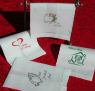 Custom Stencils Guest Towels