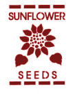 Sunflower Seeds Stencil
